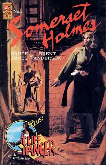 Somerset Holmes 1-A by Pacific Comics