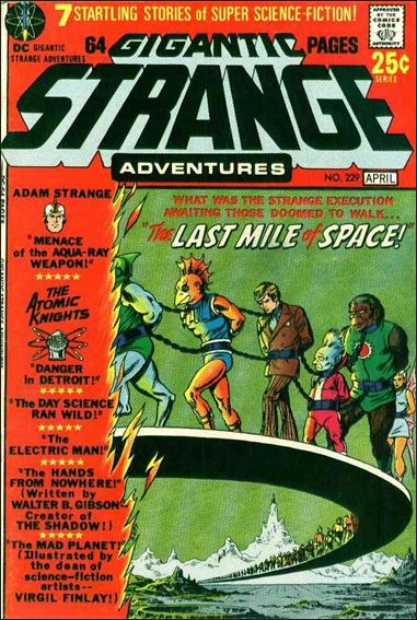 Strange Adventures (1950) 229-A by DC