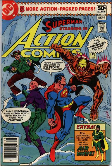 Action Comics (1938) 511-A by DC