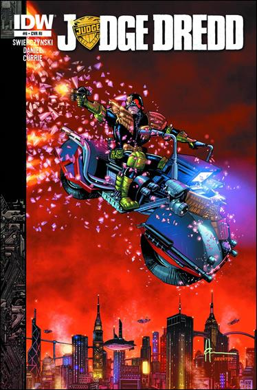 Judge Dredd (2012) 8-B by IDW