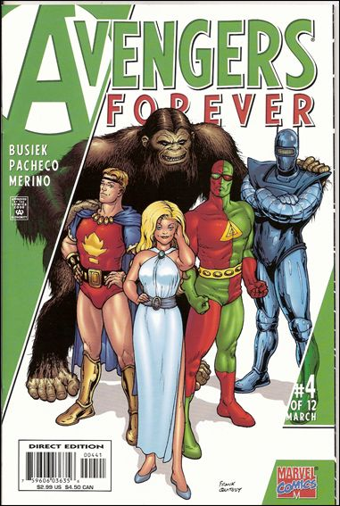 Avengers: Forever 4-D by Marvel