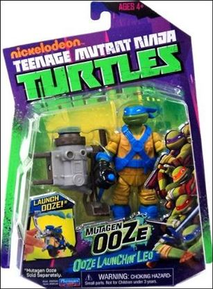 Teenage Mutant Ninja Turtles (2012) Ooze Launchin' Leo