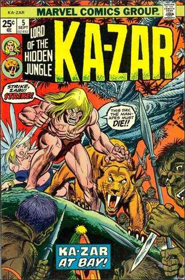 Ka-Zar (1974) 5-A by Marvel