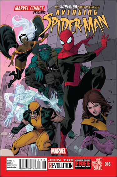 Avenging Spider-Man 16-A by Marvel