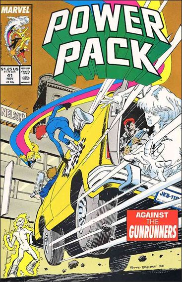 Power Pack (1984) 41-A by Marvel