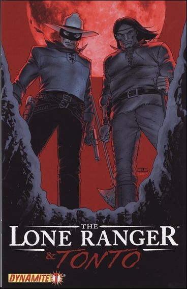 Lone Ranger & Tonto 1-A by Dynamite Entertainment