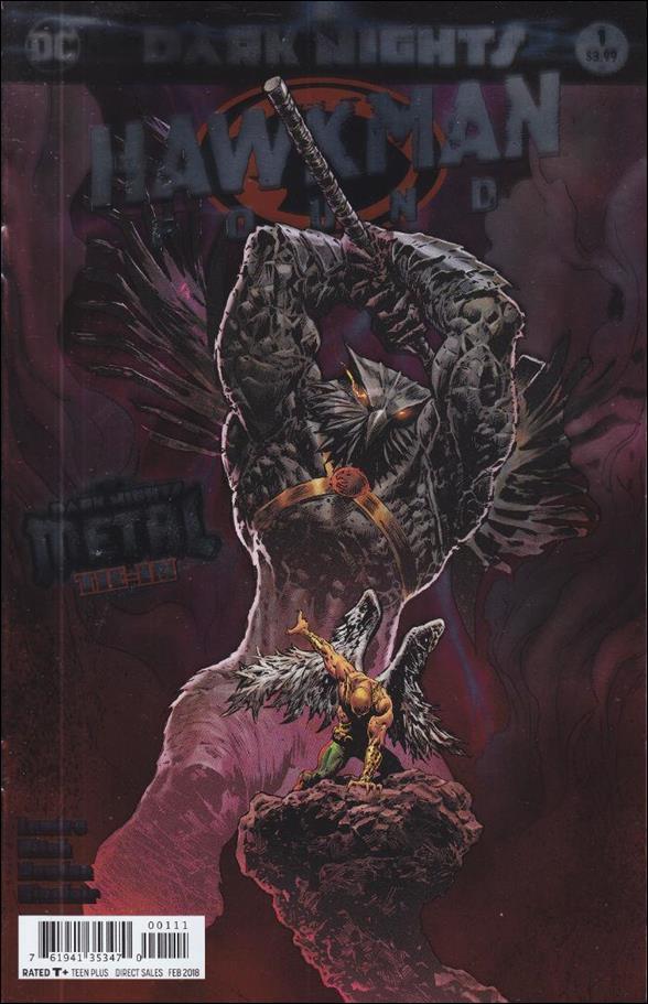 Hawkman: Found 1-A by DC