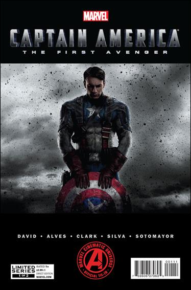 Marvel's Captain America: The First Avenger Adaptation 1-A by Marvel