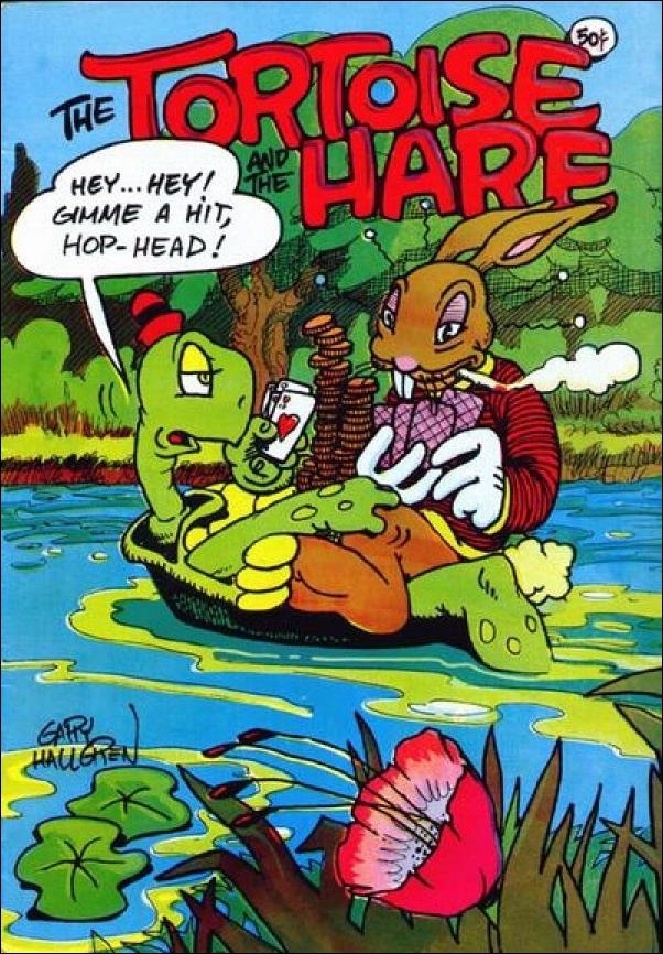 Tortoise and the Hare 1-A by Last Gasp