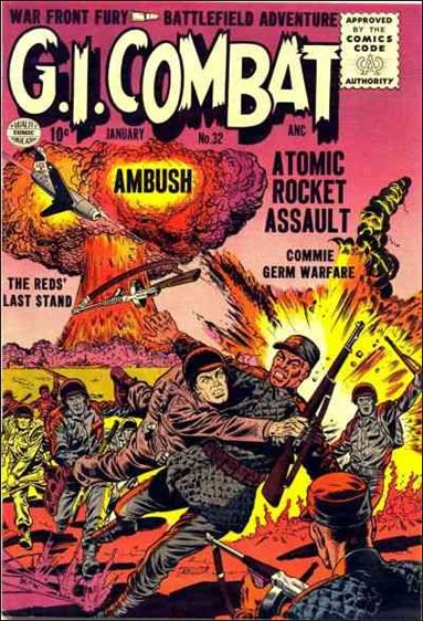 G.I. Combat (1952) 32-A by DC