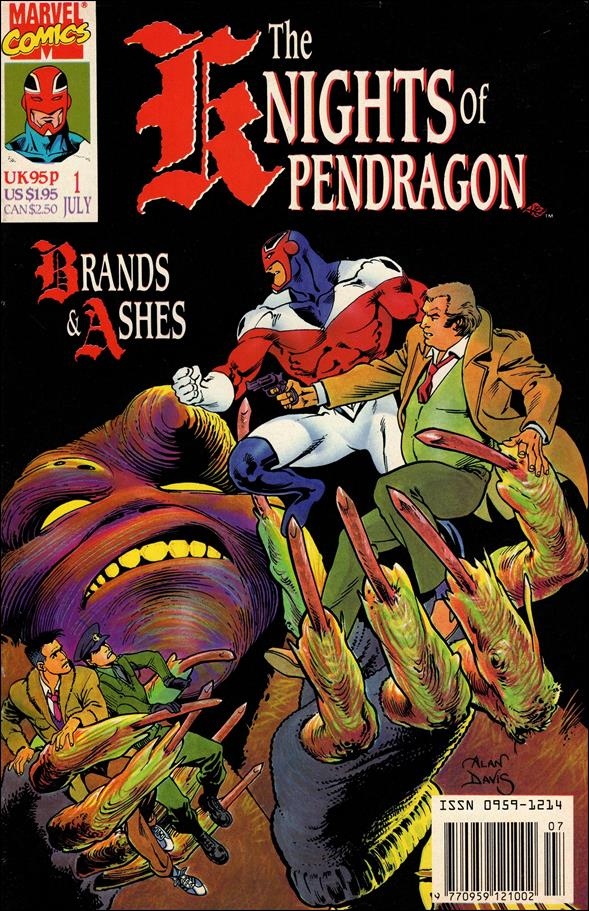 Knights of Pendragon (UK) (1990) 1-A by Marvel UK