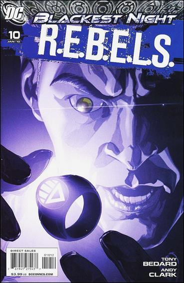 R.E.B.E.L.S. (2009) 10-B by DC