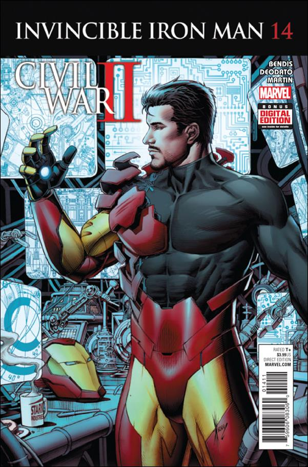 Invincible Iron Man (2015)  14-A by Marvel