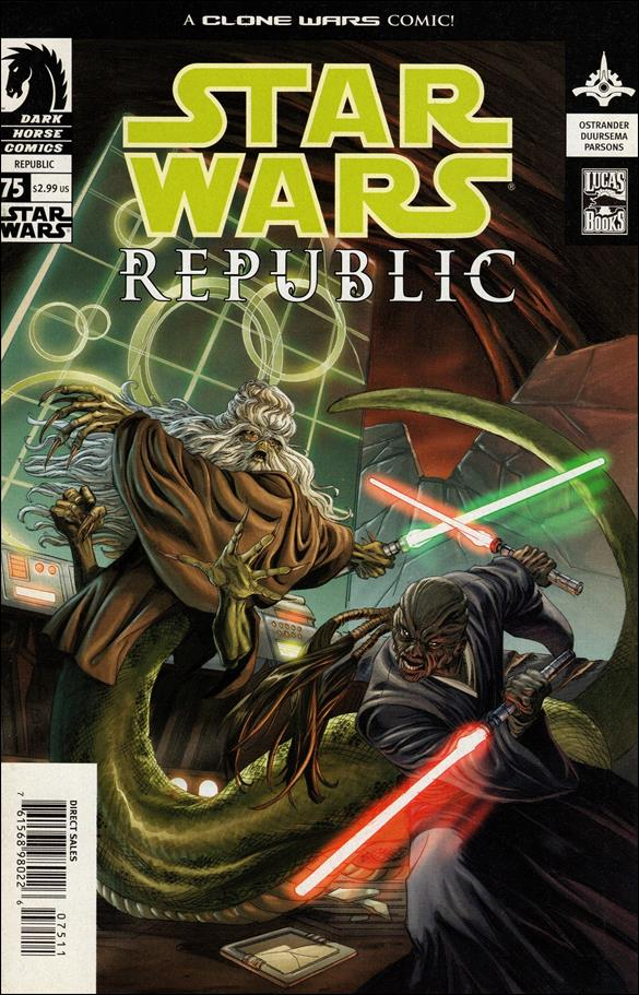 Star Wars/Star Wars Republic 75-A by Dark Horse