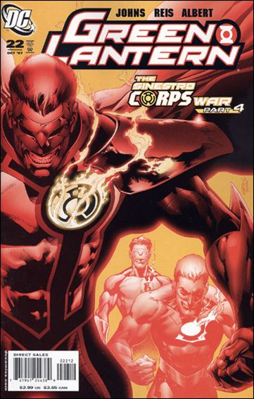 Green Lantern (2005) 22-B by DC