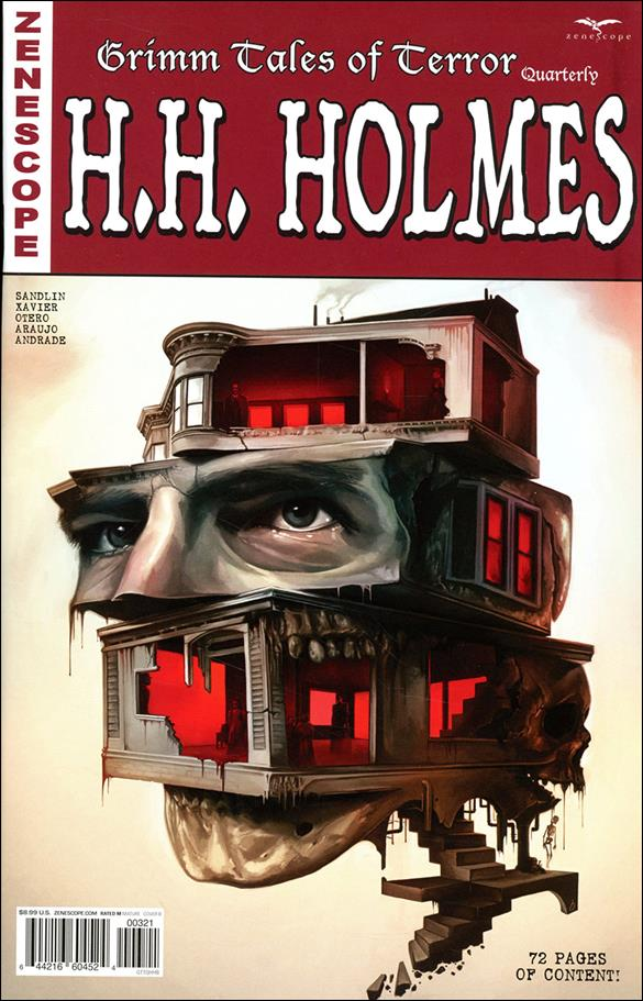 Grimm Tales of Terror Quarterly: H.H. Holmes 1-B by Zenescope Entertainment