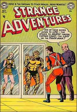Strange Adventures (1950) 34-A by DC