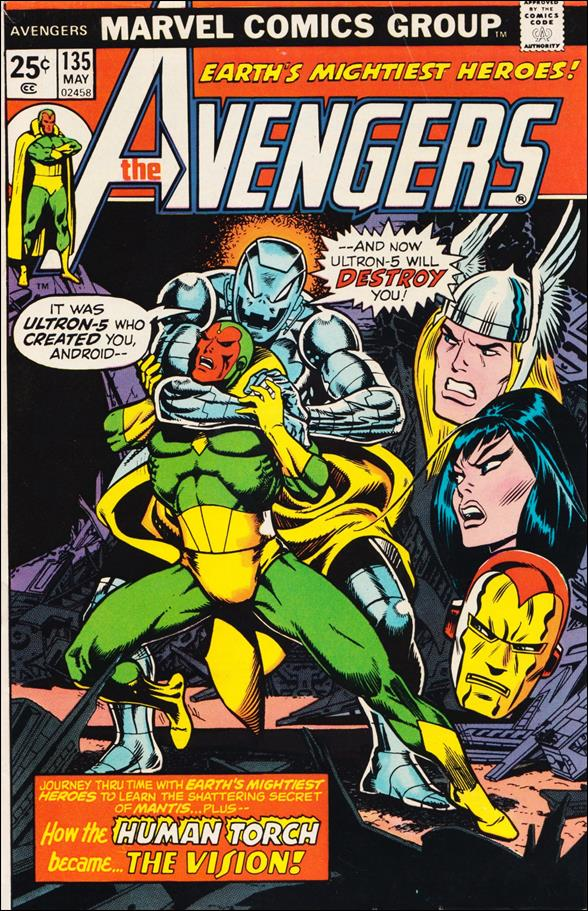 Avengers (1963) 135-A by Marvel
