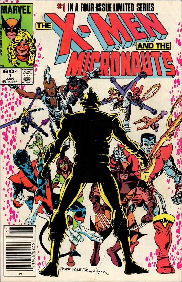 X-Men and the Micronauts 1-A by Marvel