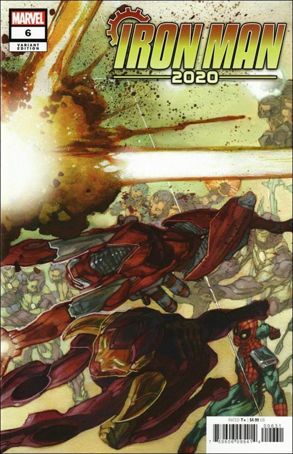 Iron Man 2020 (2020) 6-B by Marvel