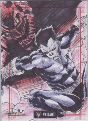 2013 Valiant Comics Preview Trading Card Set (Sketch Card Subset) FM-17-A