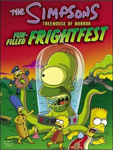 Simpsons: Treehouse of Horror Fun-filled Frightfest 1-A by HarperCollins