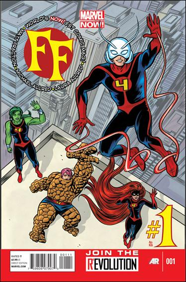 FF (2013) 1-A by Marvel