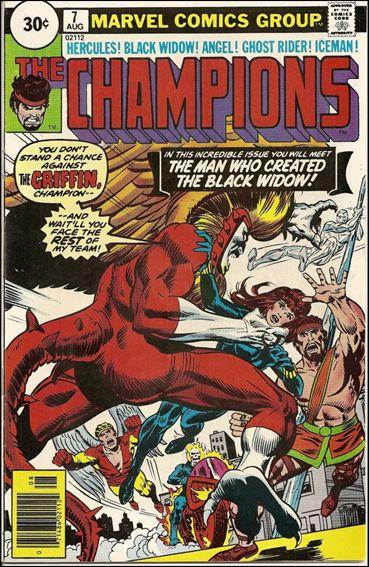 Champions (1975) 7-B by Marvel