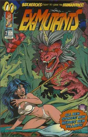 Ex-Mutants (1992) 2-A by Malibu