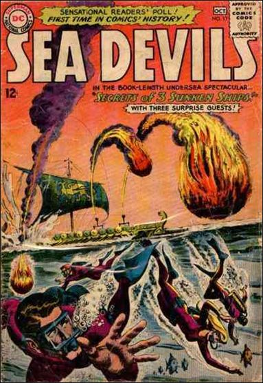Sea Devils 13-A by DC