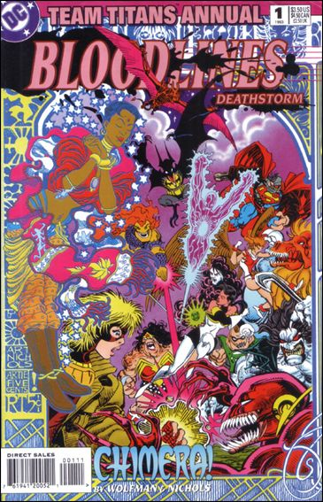Team Titans Annual 1-A by DC
