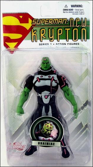Superman: New Krypton (Series 1) Brainiac by DC Direct