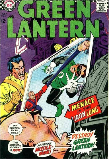 Green Lantern (1960) 54-A by DC
