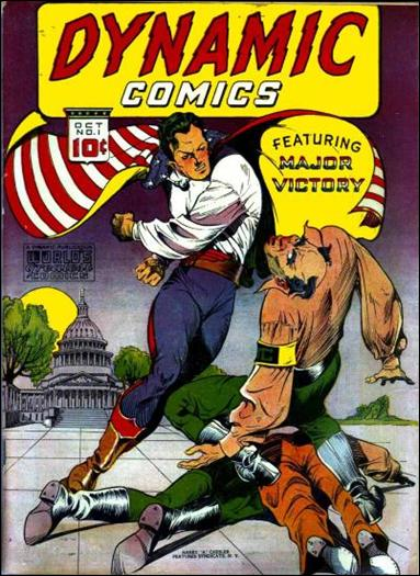 Dynamic Comics (1941) 1-A by Harry A. Chesler