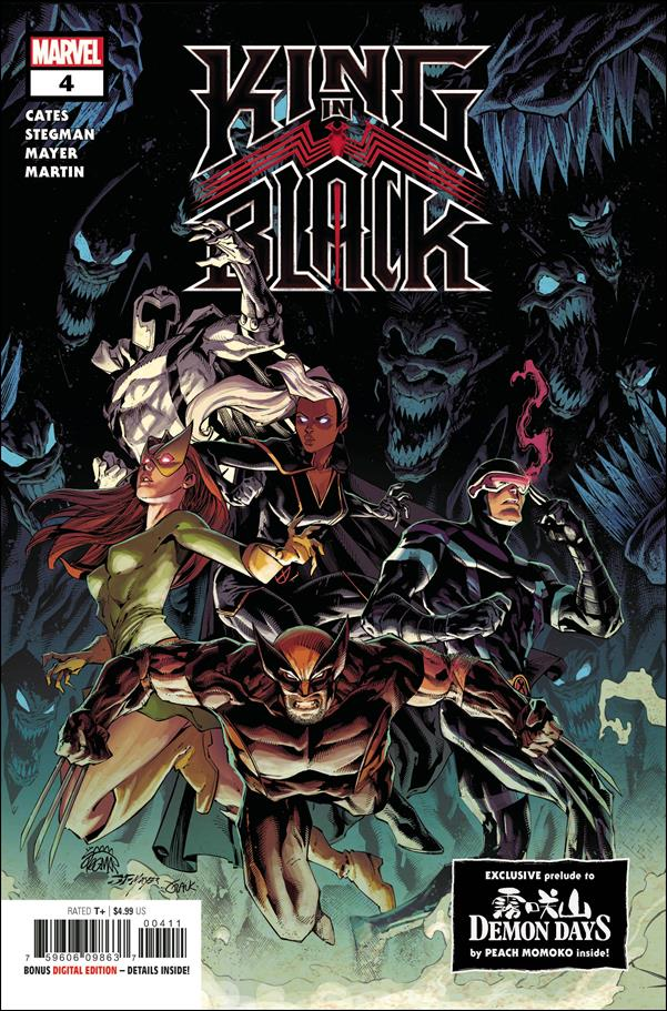 King in Black 4-A by Marvel