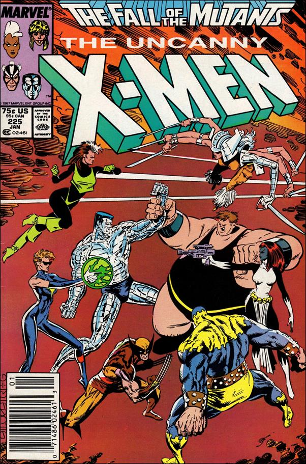 Uncanny X-Men (1981) 225-A by Marvel