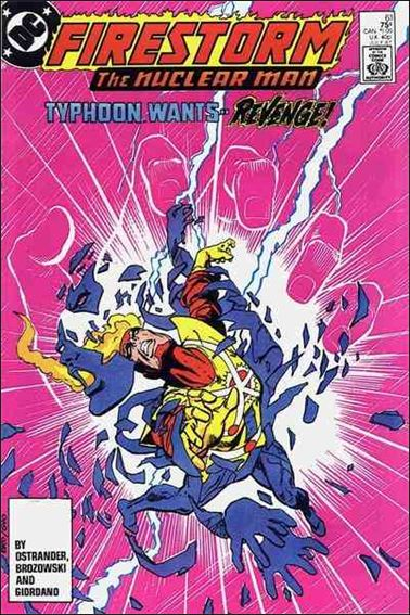Fury of Firestorm 61-A by DC