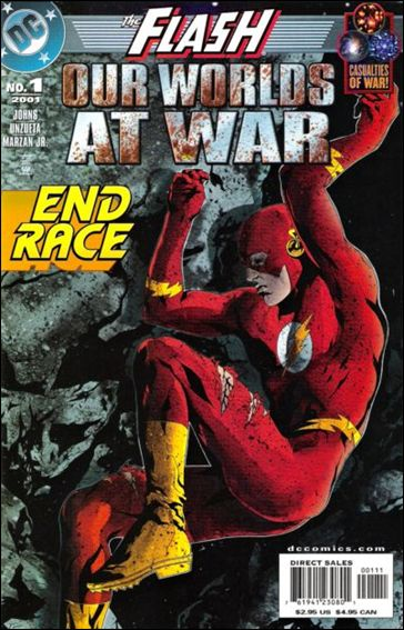 Flash: Our Worlds at War 1-A by DC