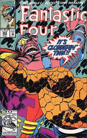 Fantastic Four (1961) 365-A by Marvel