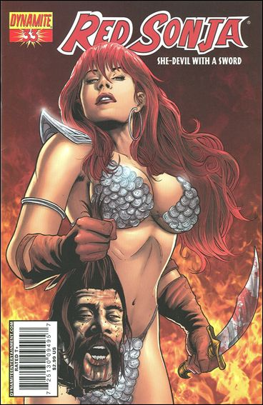 Red Sonja 33-A by Dynamite Entertainment