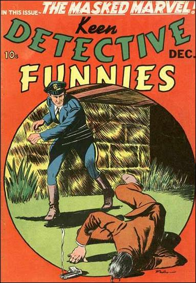 Keen Detective Funnies (1939) 12-A by Centaur Publications Inc.