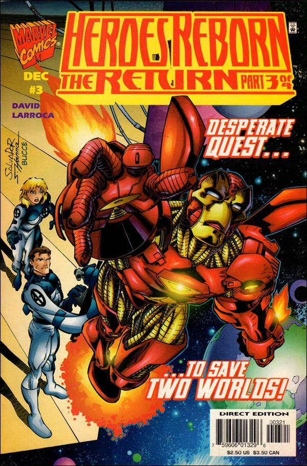 Heroes Reborn: The Return 3-B by Marvel