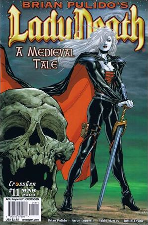 Brian Pulido's Lady Death: A Medieval Tale 11-A