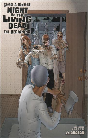 Night of the Living Dead: The Beginning 1-J by Avatar Press