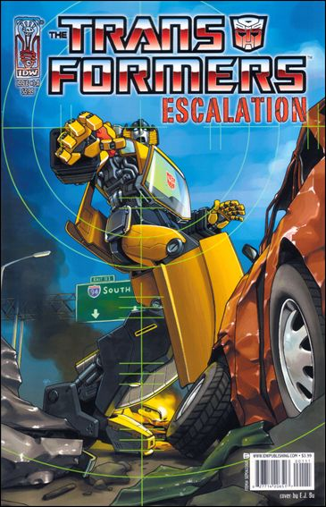 Transformers: Escalation 1-A by IDW