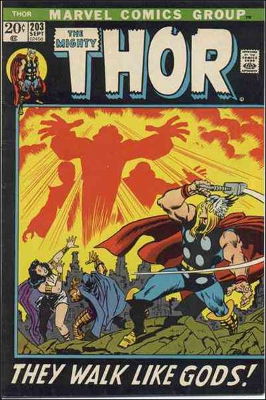 Thor (1966) 203-A by Marvel