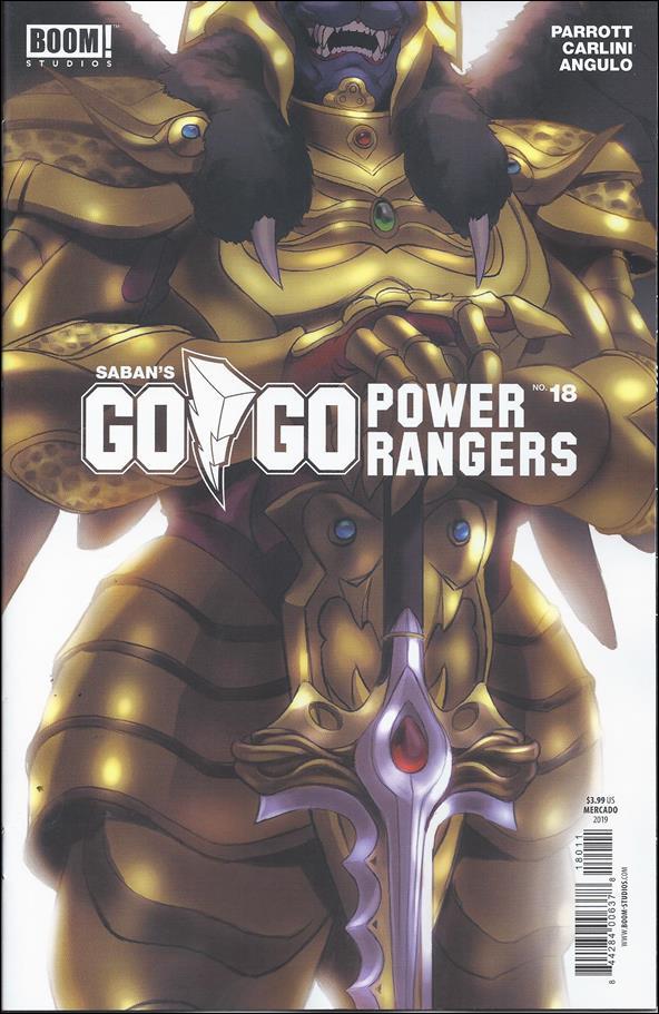 Saban's Go Go Power Rangers 18-B by Boom! Studios
