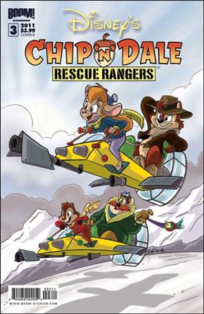 Chip 'n' Dale Rescue Rangers (2010) 3-B
