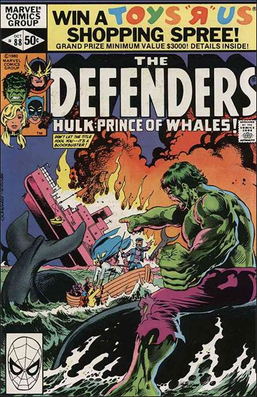 Defenders (1972) 88-A by Marvel