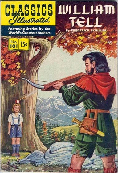 Classic Comics/Classics Illustrated 101-A by Gilberton